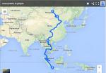 Asiecyclette – Remontée de l'Asie à vélo