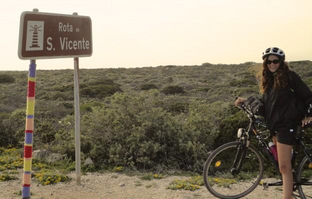 Cap de Saint-Vincent Portugal à vélo