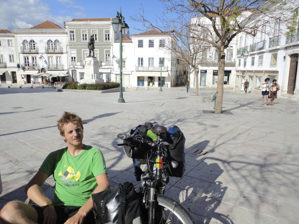 Jolis centres villes au Portugal - voyage à vélo