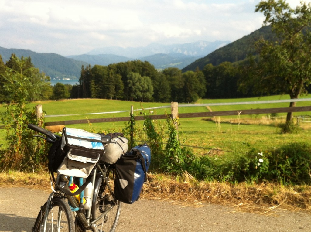 Région des lacs autrichiens à vélo