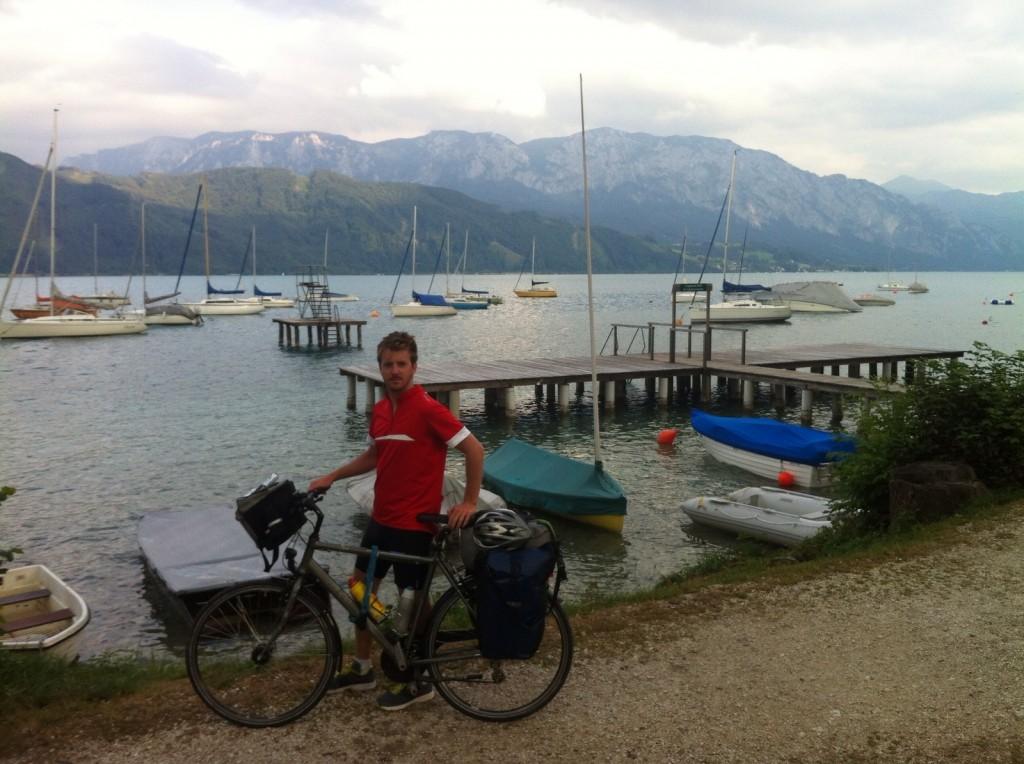 Magnifique région des lacs en Autriche