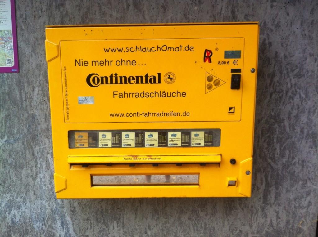 Distributeur de chambres à air en Autriche