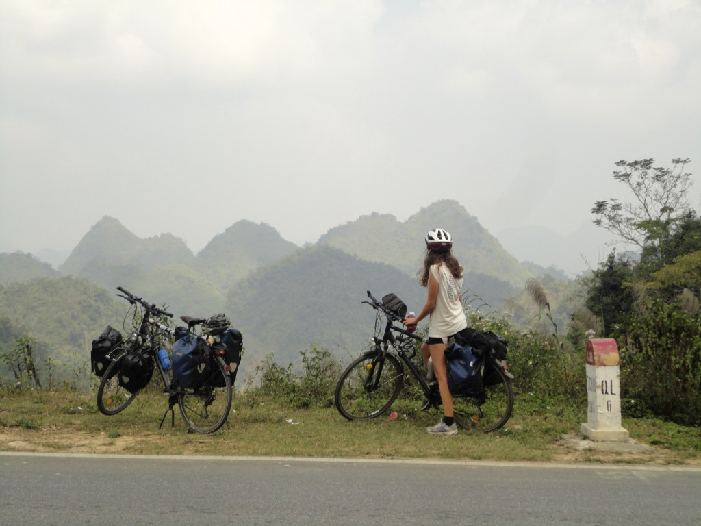 Alpes du tonkin vietnam vélo