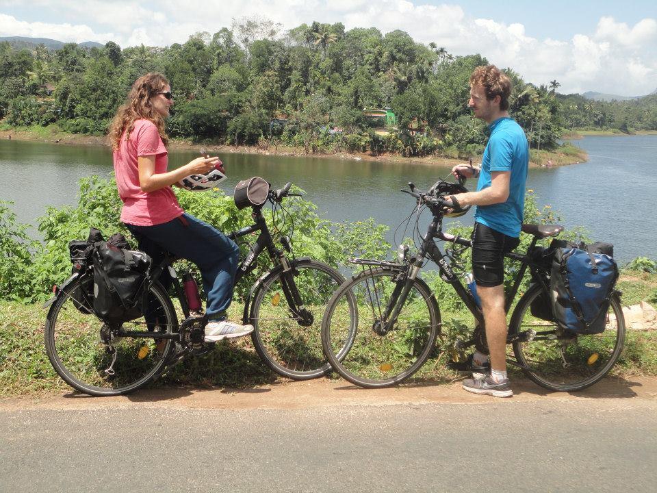 Traversée des Ghats Kerala à vélo