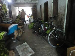 Inde à vélo réparation
