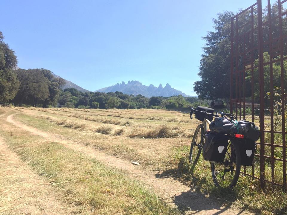 Voyage à vélo en Corse - routes départementales