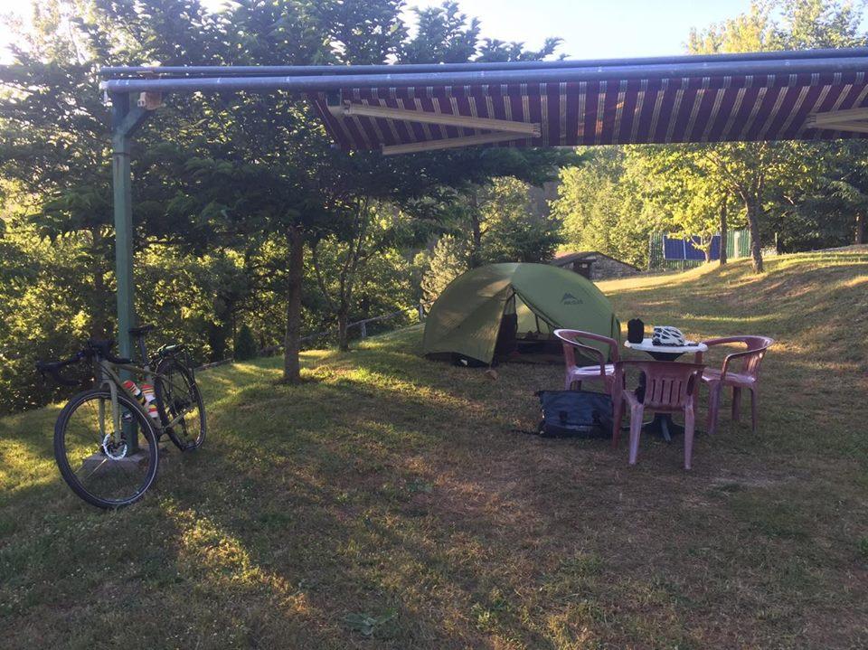 Camping de Bastelica - tour de Corse à vélo