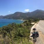 Voyager à vélo en Corse, témoignage de Damien Derobert