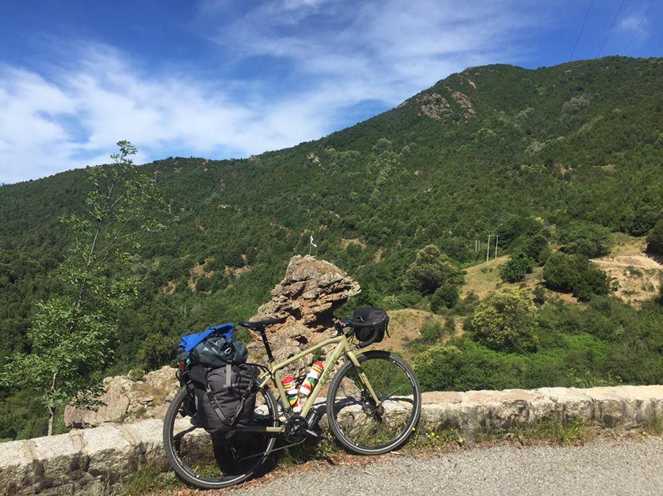 Voyager à vélo en Corse c'est la liberté !