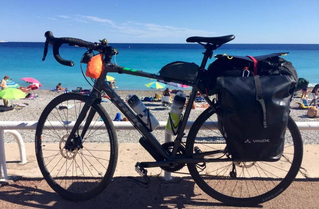 Vélo de randonnée d'Emmanuel TrekCrossRip 2 2017