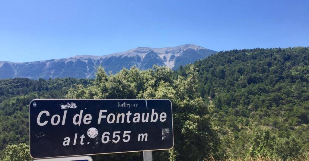 Col de Fontaube vélo