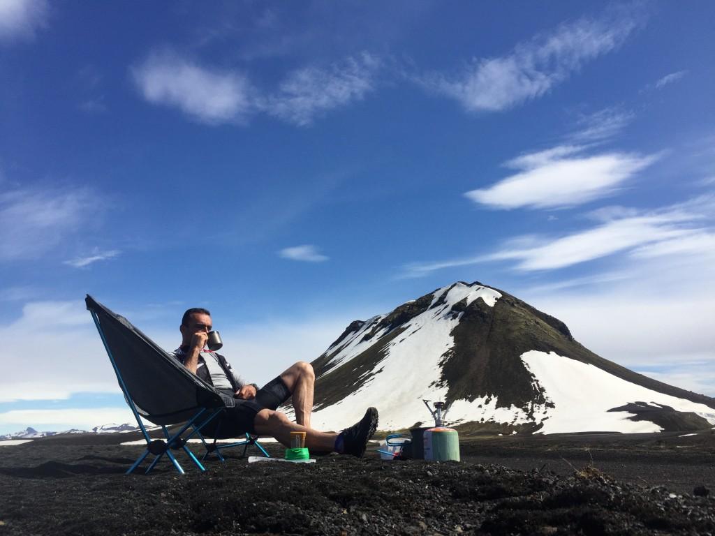 Dormir à côté d'un glacier en Islande