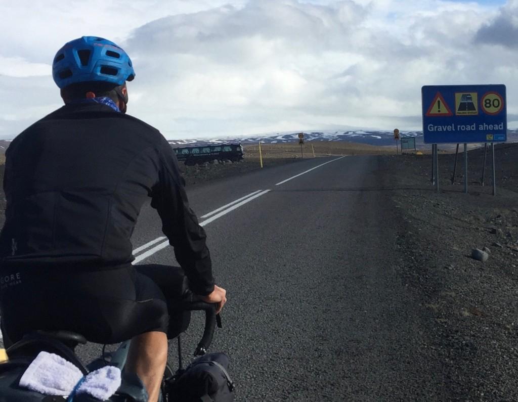 Textile Gore Tex voyage Islande à vélo