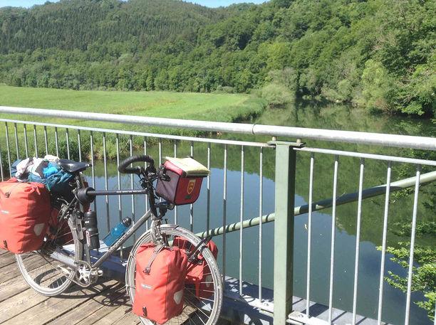 Le Danube près de Fridingen en Allemagne