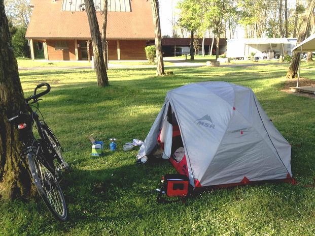 Camping sur l'Eurovélo 6 en Allemagne