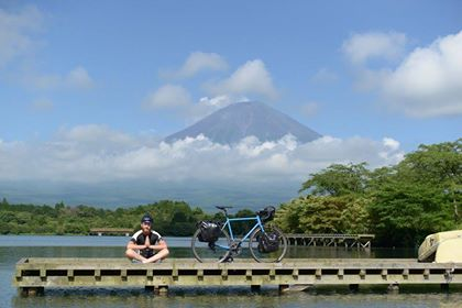 Mont Fuji à vélo
