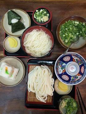 Nourriture japonaise pendant notre tour du Japon à vélo