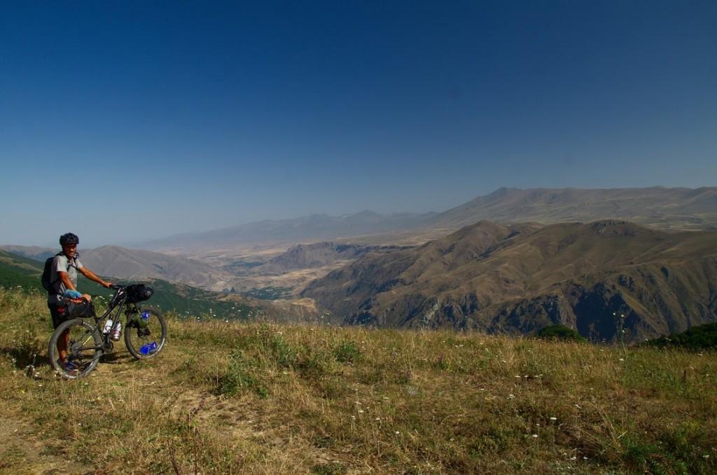 Paysages Arménie vélo