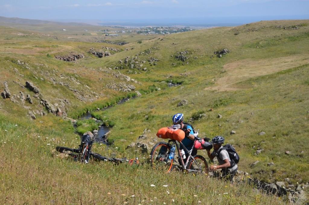 Haut Karabakh vélo voyage