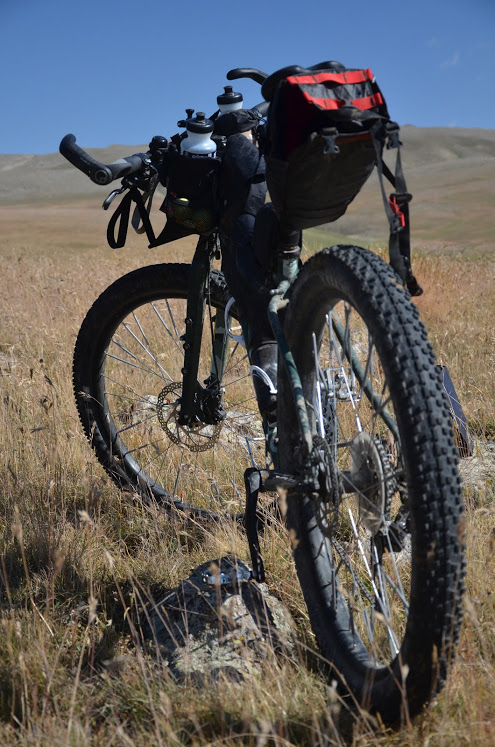 Vélo bikepacking arménie