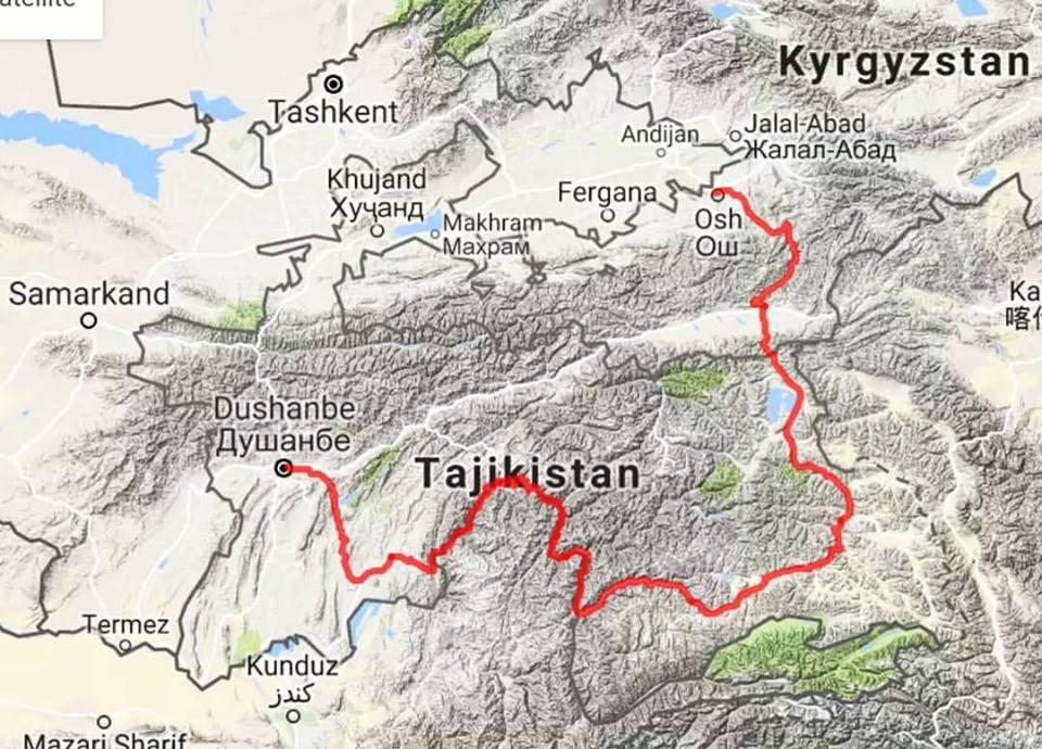 tajikistan à vélo pamir highway