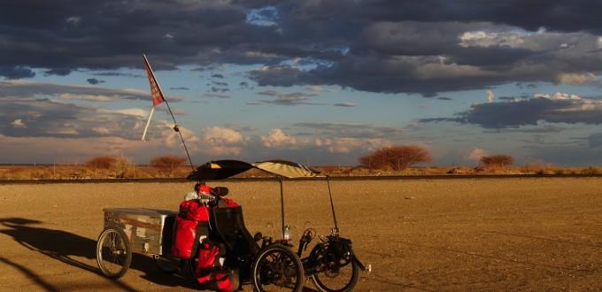 voyage frédéric lepron afrique vélo