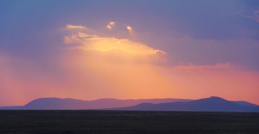 Ciel du Serengeti Tanzanie