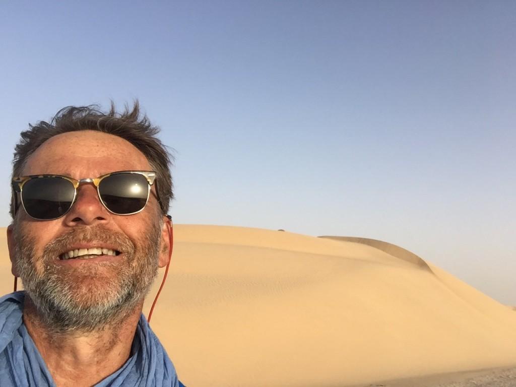 désert de mauritanie à vélo