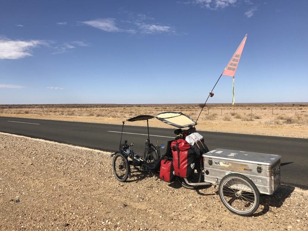 trike afrique du sud voyage vélo