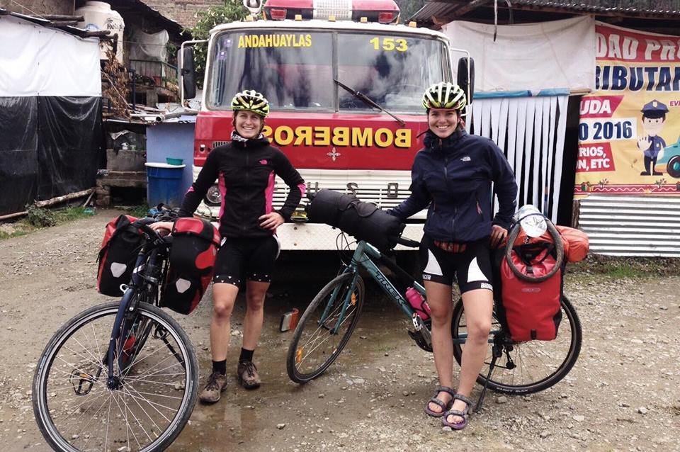 Maya et Alissa voyage vélo Amérique du sud