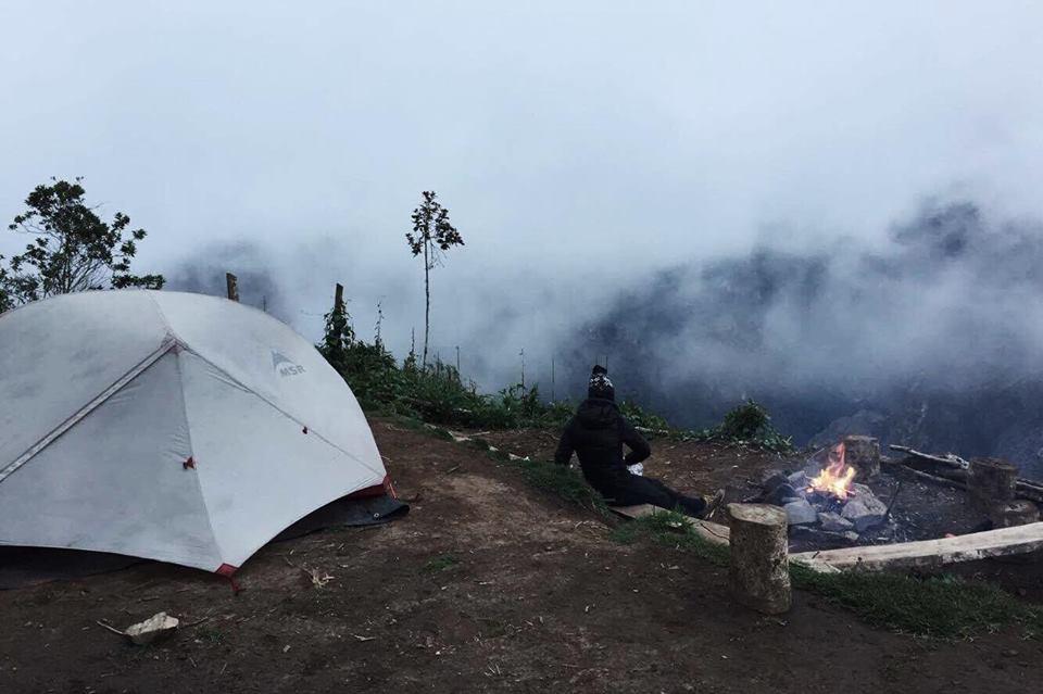 Tente MSR Hubba Hubba Amérique du sud