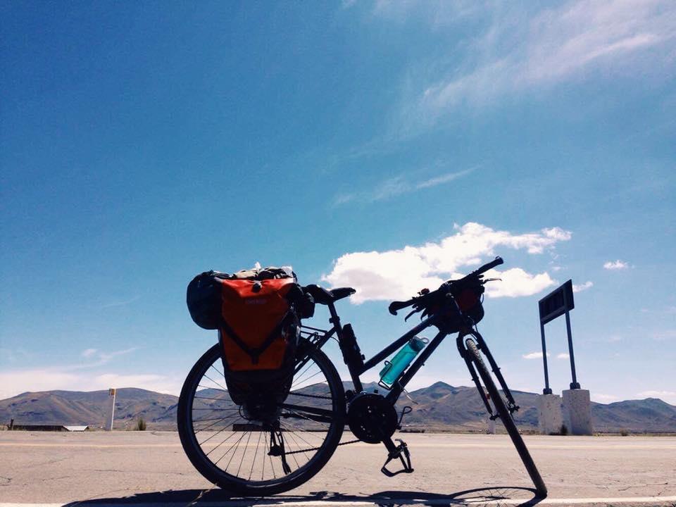 Vélo Alyssa voyage vélo Amérique du sud
