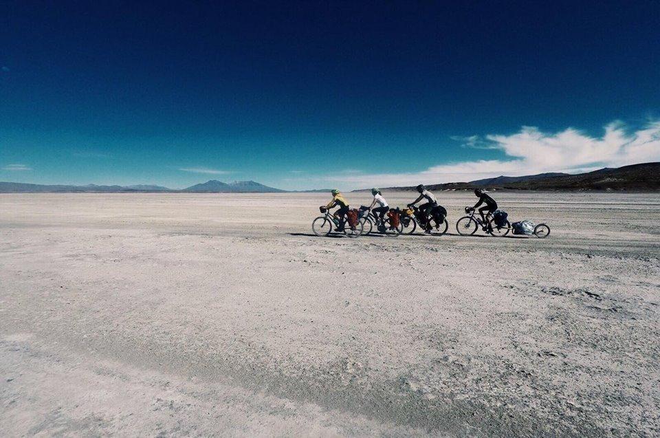 Salar d'Uyuni traversée vélo