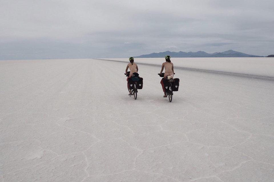 Salar d'Uyuni à vélo
