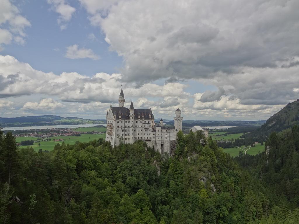 Schwangau emblématique château Bavarois