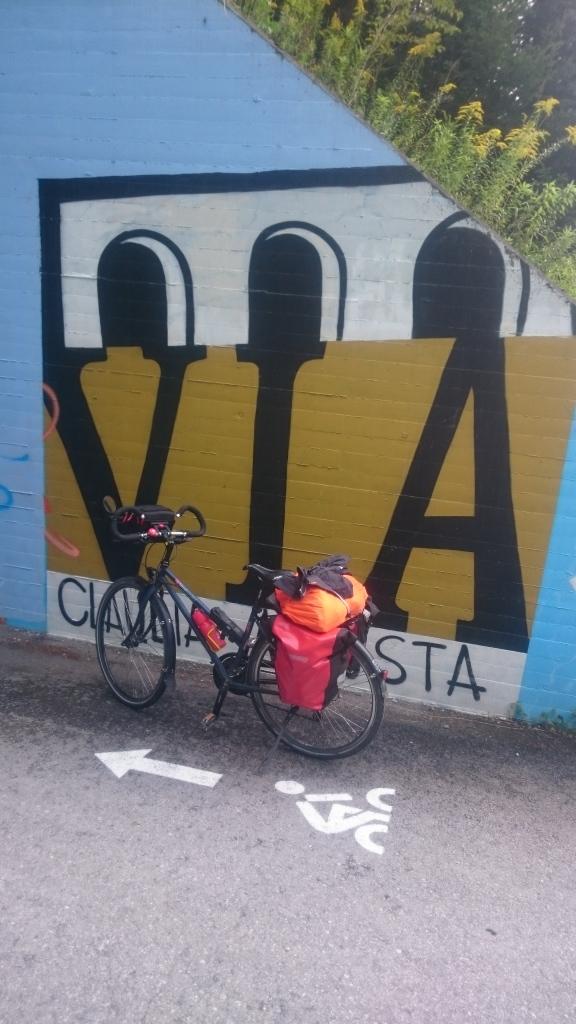 Via Claudia nord de l'Italie à vélo