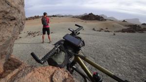 Parc National du Teide à vélo, la sensation d_être sur la Lune