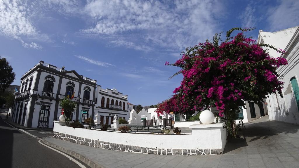 Village de Haría sur l'île de Lanzarote