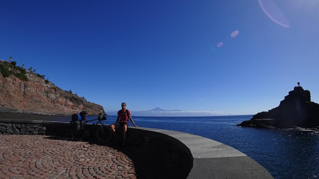 Vue sur le Teide (3718m) depuis l'île de La Gomera