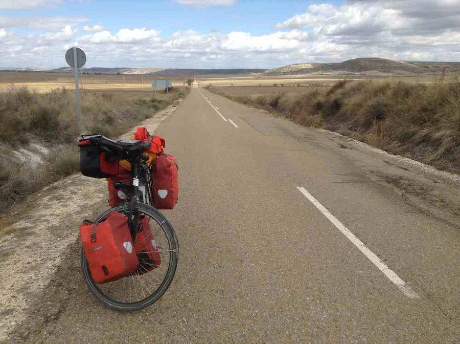 route espagnole vélo