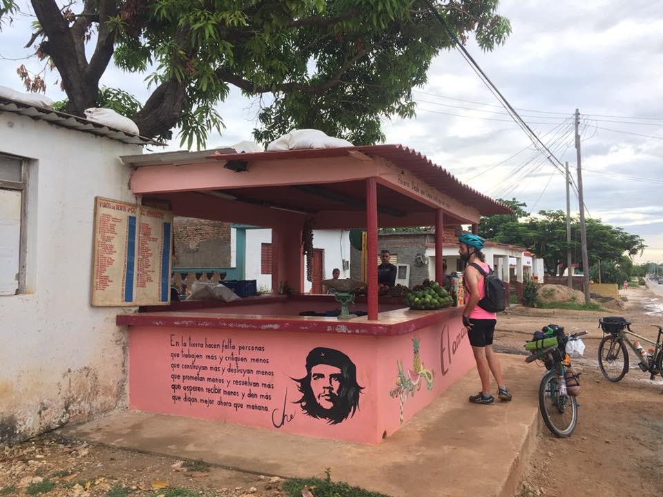 nourriture cuba voyage vélo