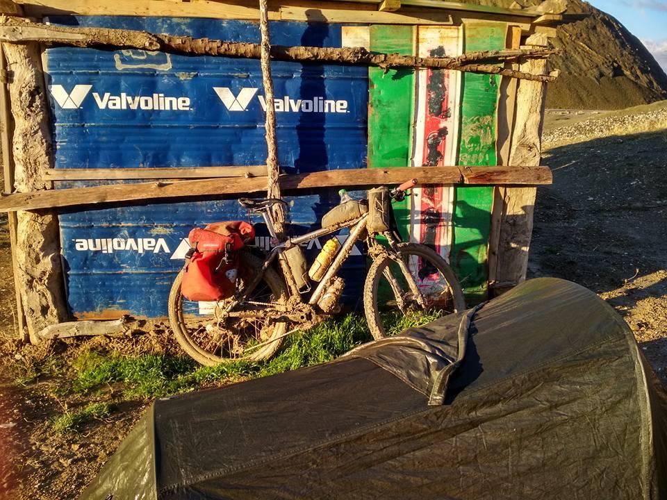 Bivouac vélo Balkans