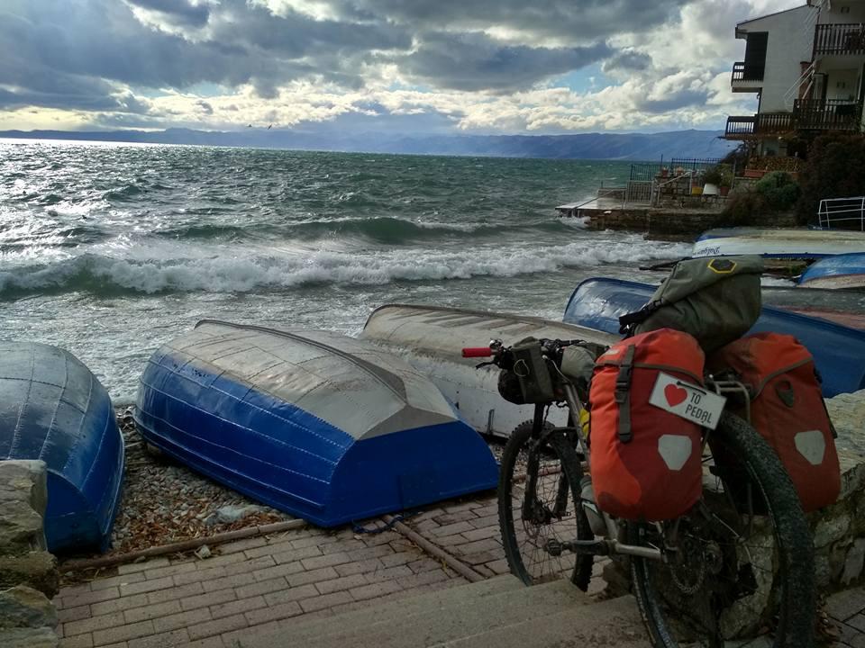 Côte adriatique à vélo balkans