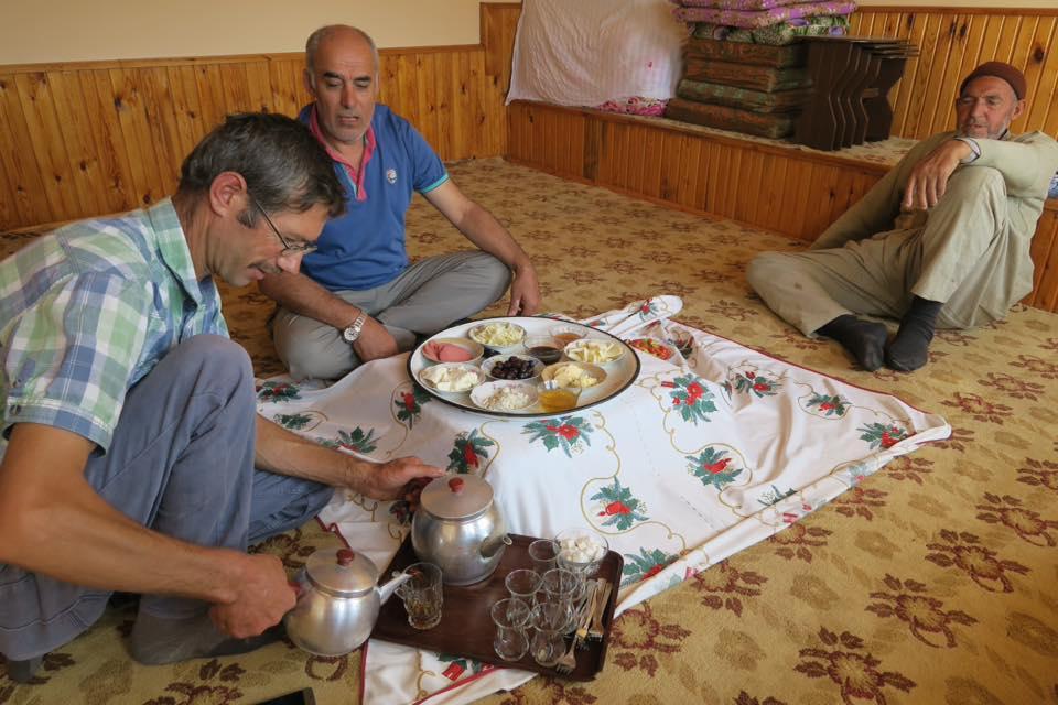 Turquie à vélo thé