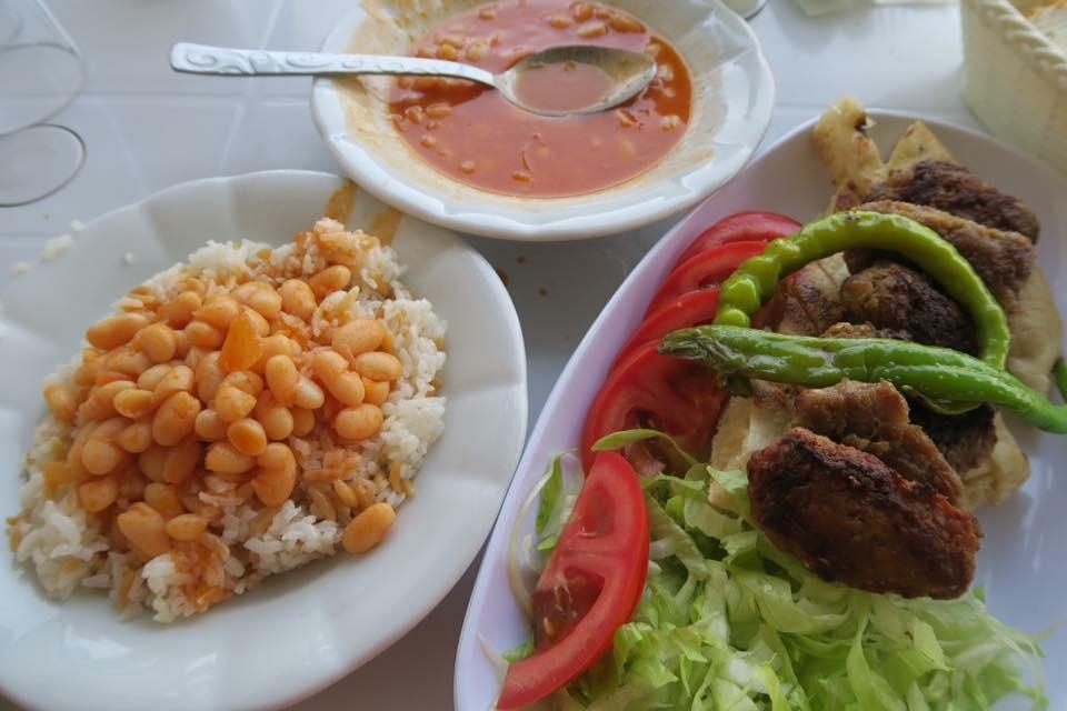 Nourriture turque voyage vélo