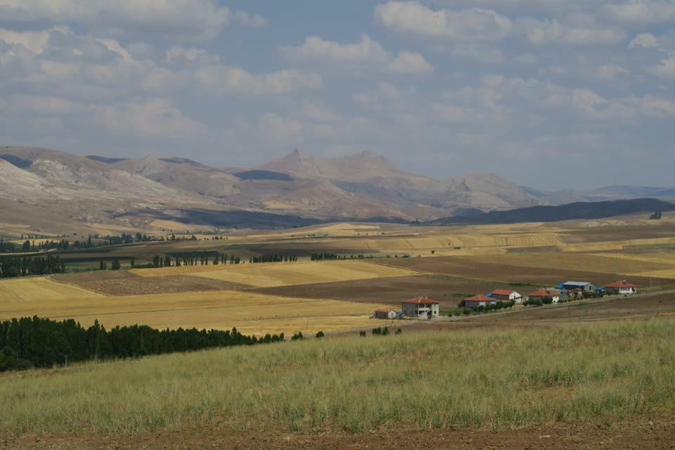 paysage turquie vélo