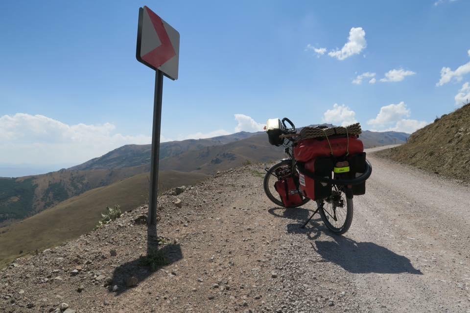 Turquie à vélo piste