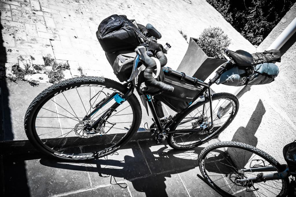 Vélo Adrien Danemark voyage