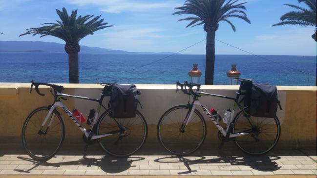 Guillaume Barraud récit Corse à vélo
