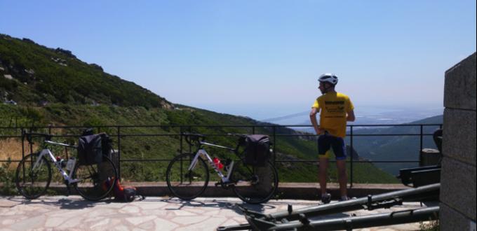 Tour de Corse à vélo de Guillaume Barraud